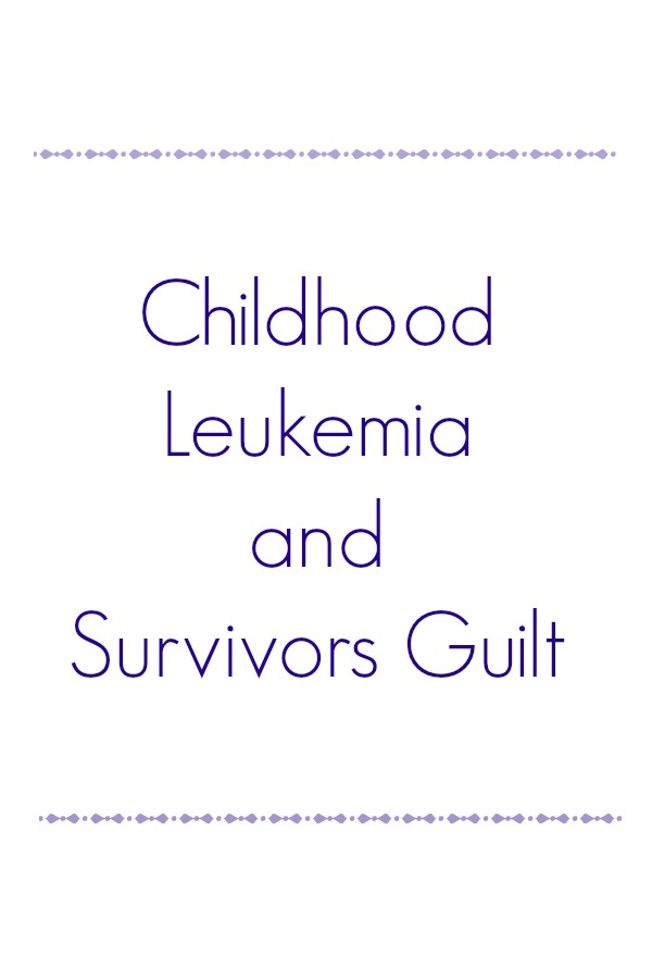Childhood Leukemia and Survivors Guilt article