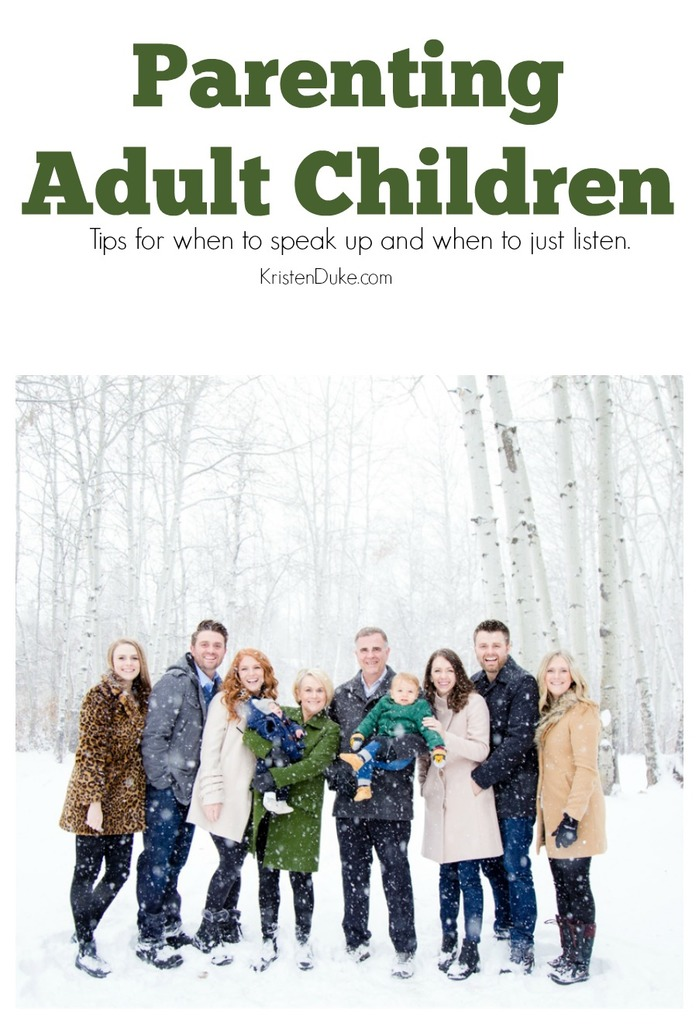 Parenting Adult Children with Love