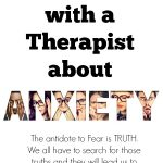 Talking with a Therapist about Anxiety