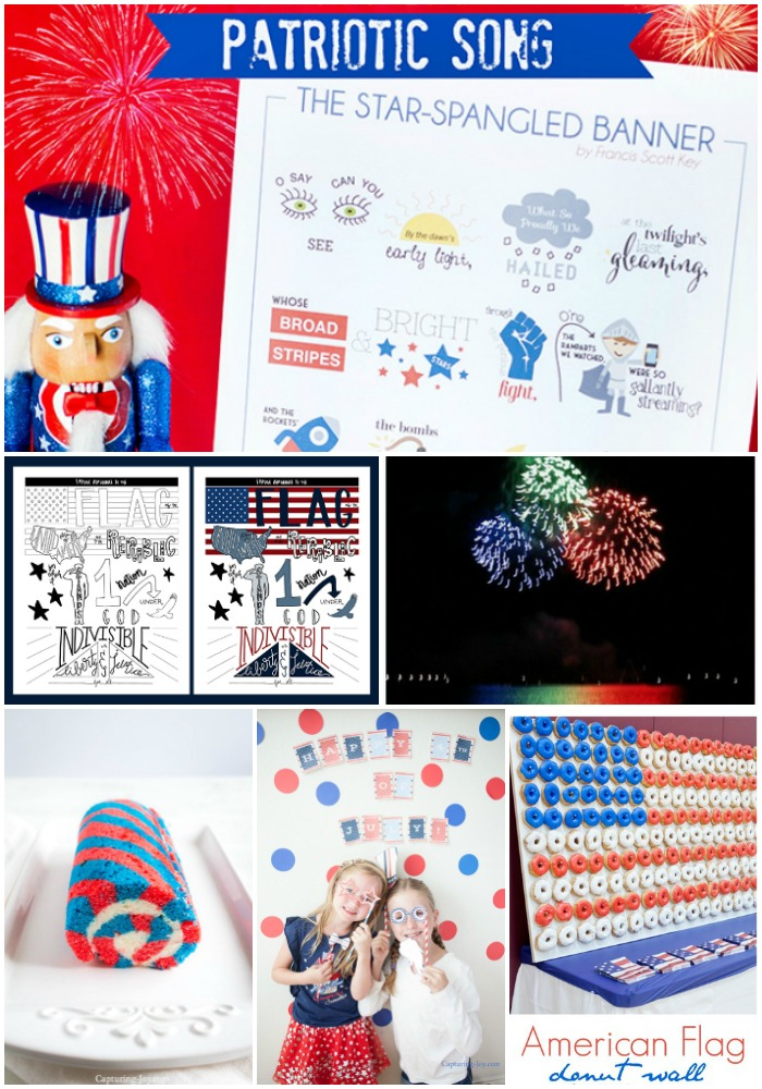 4th of July Patriotic Ideas