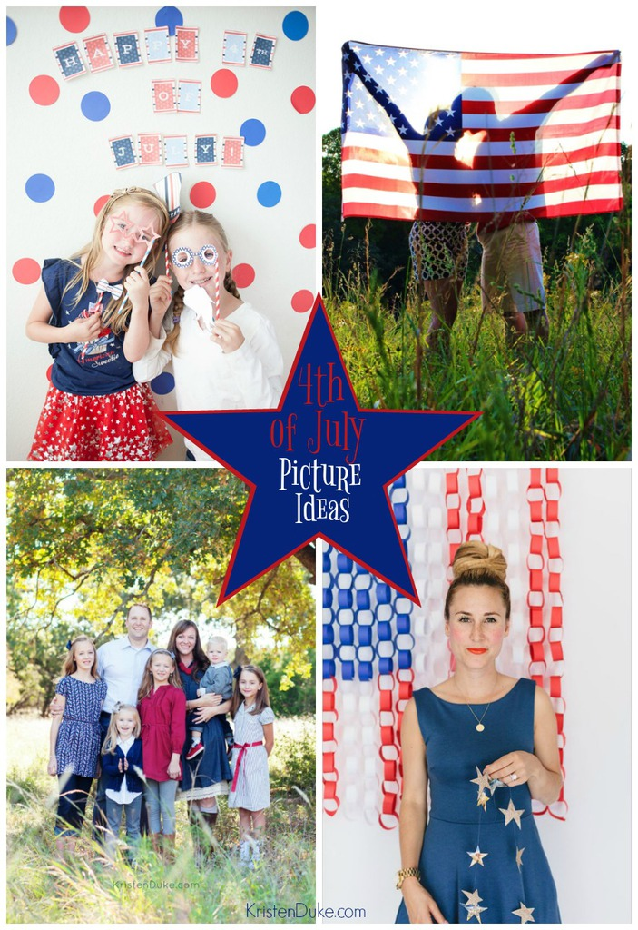 4th of July Picture Ideas with American Flag