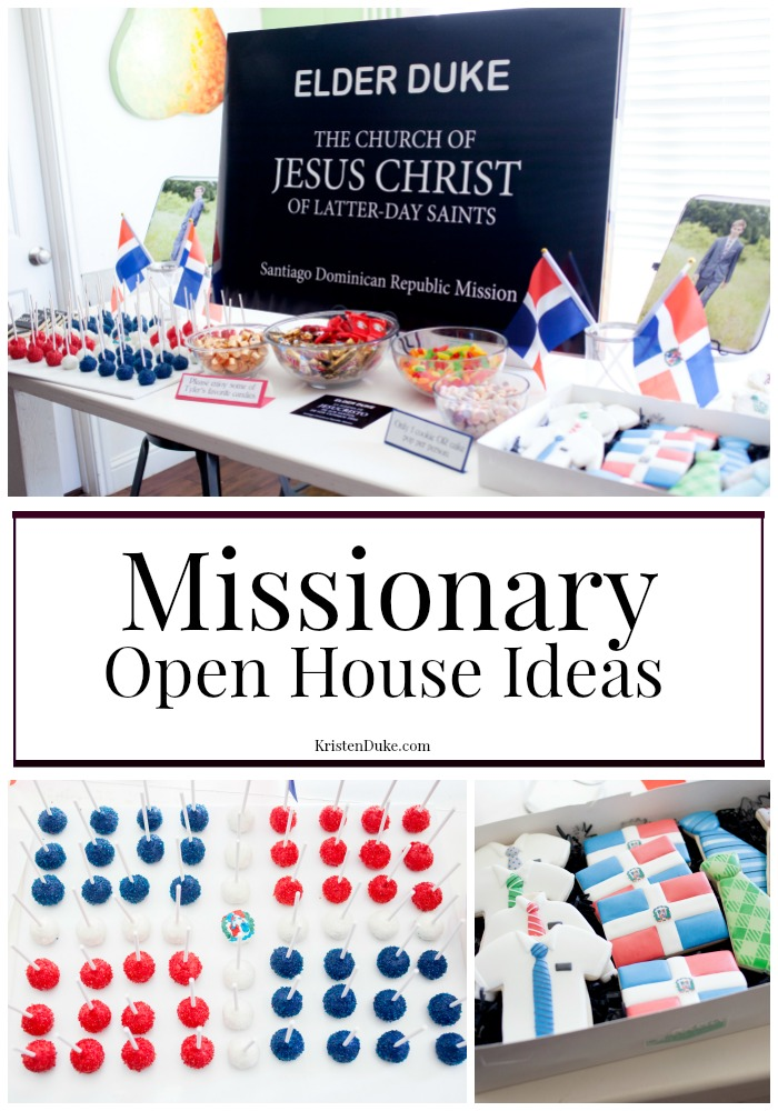 Missionary Open House Ideas