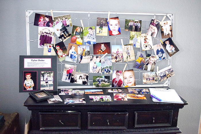 missionary picture display