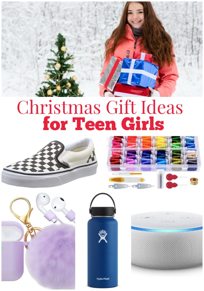 Christmas Gift Ideas for Teen Girls {Gift Guide} | Kristen ...
