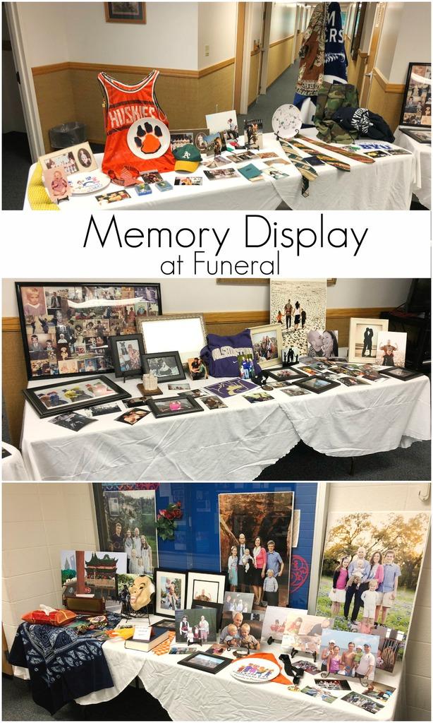 Funeral Memory Display