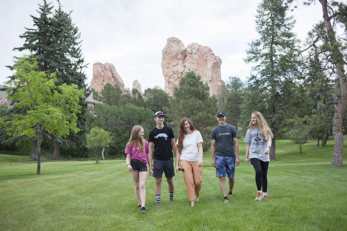Duke Family at Glen Eyrie