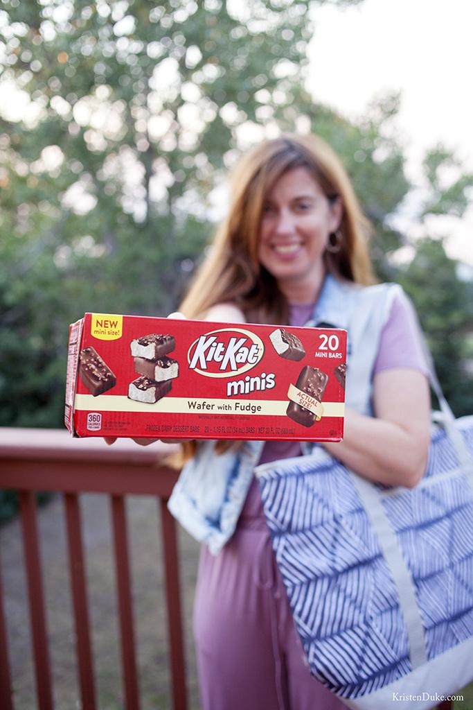 Kit Kat ice cream mini