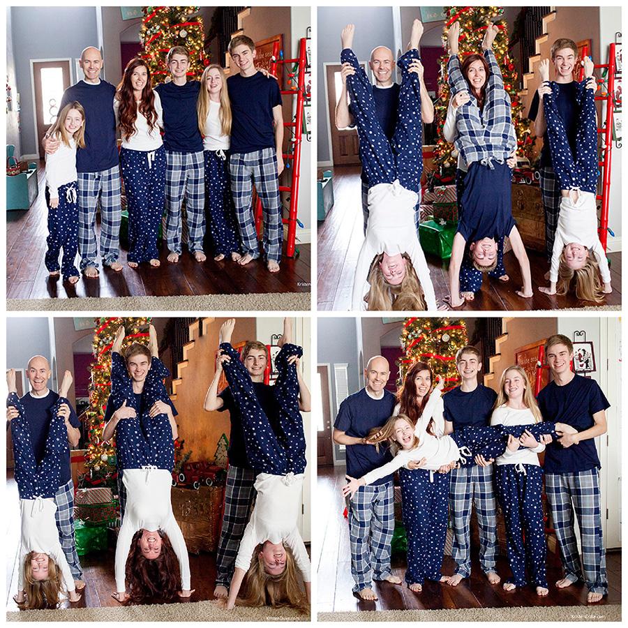 Kristen Duke Photography Christmas Pajamas