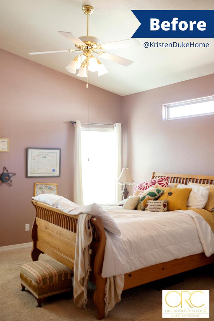One Room Challenge Bedroom Makeover Before