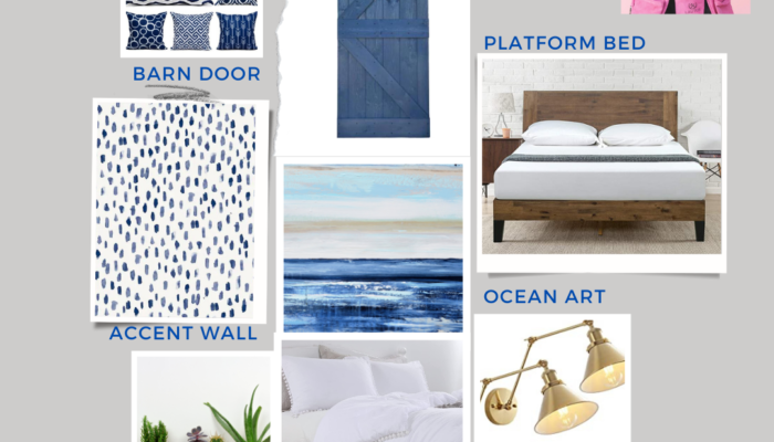 One Room Challenge Vision Board
