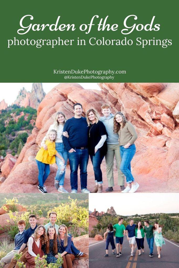 Garden of the Gods Photographer in Colorado Springs